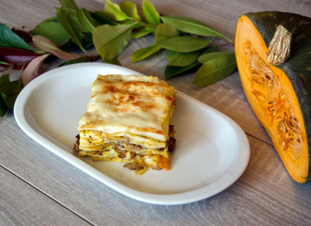 lasagne-zucca-funghi-salsiccia